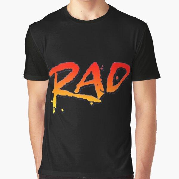 RAD BMX MOVIE 1986  Graphic T-Shirt