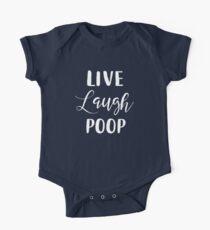 Live Laugh Poop Kids Clothes