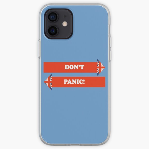 Dad's Army –Don't Panic! iPhone Soft Case