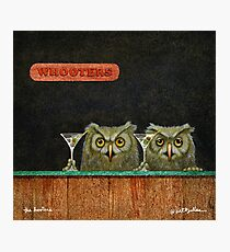 Will Bullas  art print / the hooters... / humor / animals Photographic Print