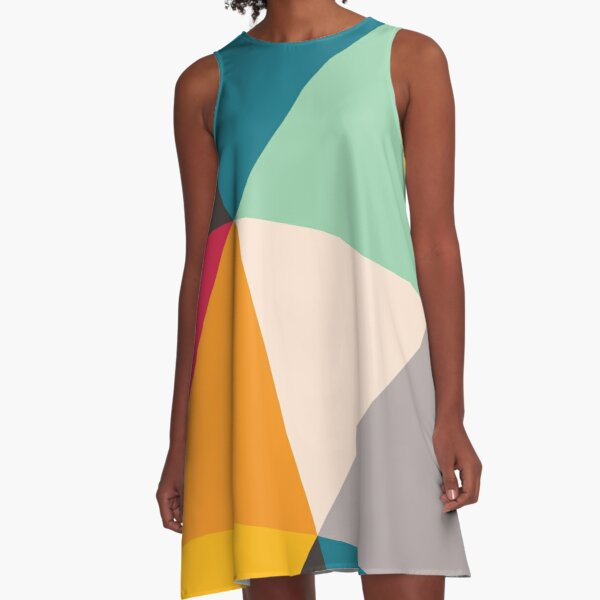 Triangles (2012) A-Line Dress