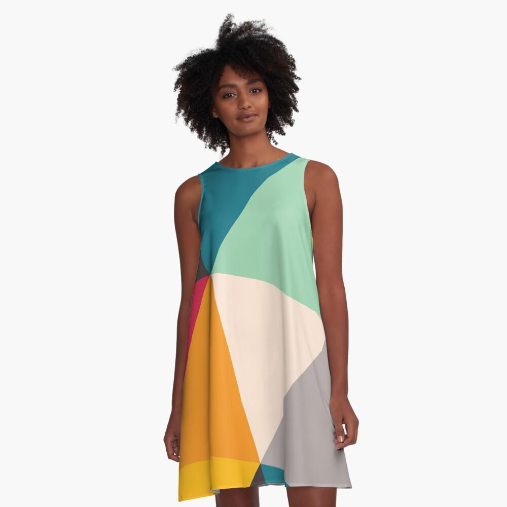 Triangles (2012) A-Line Dress