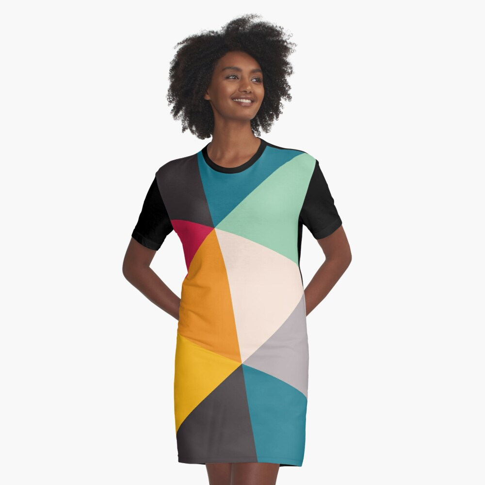 Triangles (2012) Graphic T-Shirt Dress