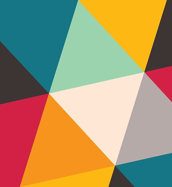 Triangles (2012) by Gary Andrew Clarke