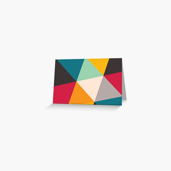 Triangles (2012) Greeting Card
