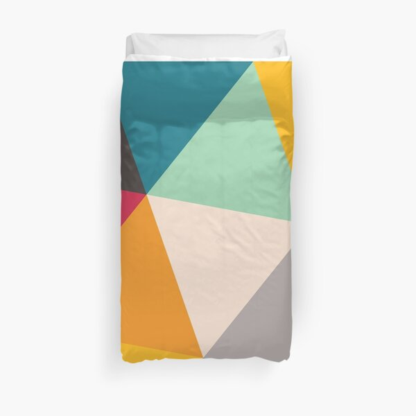 Triangles (2012) Duvet Cover