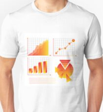 info graphic elements Unisex T-Shirt
