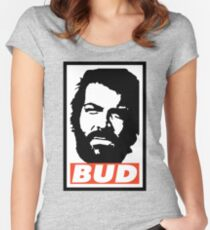BUD Women's Fitted Scoop T-Shirt
