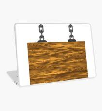 wood sign Laptop Skin