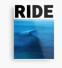 Ride - Nowhere Metal Print