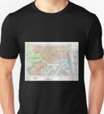 USGS TOPO Map Alaska AK Anchorage 707708 1962 250000 Unisex T-Shirt
