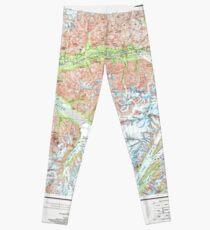 USGS TOPO Map Alaska AK Anchorage 707708 1962 250000 Leggings