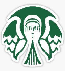 Starbucks Don't Blink Sticker