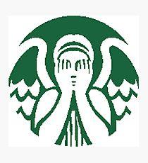 Starbucks Don't Blink Photographic Print