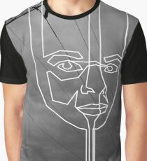 dripping face Graphic T-Shirt