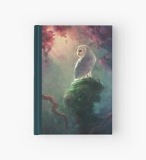 Barn Owl Hardcover Journal