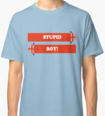 Dad's Army –Stupid Boy! Classic T-Shirt