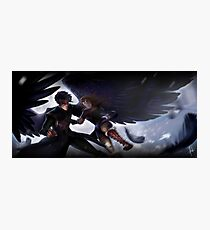Rhys and Feyre Photographic Print