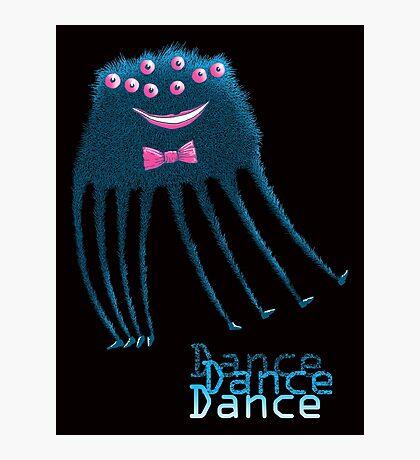 Techno Dance Disco Spider Photographic Print