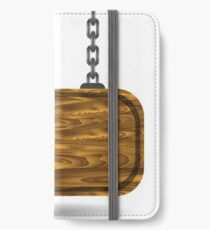 wooden sign iPhone Wallet/Case/Skin