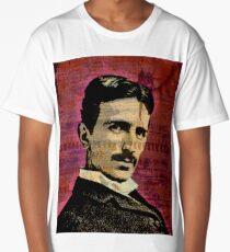 Nikola Tesla Long T-Shirt