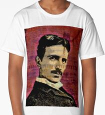 Nikola Tesla Long T-Shirt