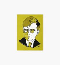 Russian Composer Dmitri Shostakovich Art Board