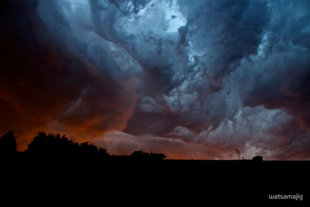 Storm clouds by watsamajig
