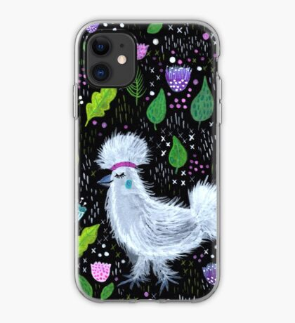 Glam Huhn iPhone-Hülle & Cover