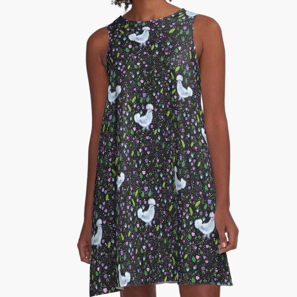 Glam Chicken A-Line Dress