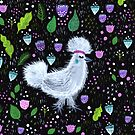 Glam Huhn von Jacqueline Hurd
