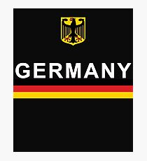 Germany National Sports Team Design Photographic Print