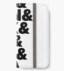 D&D Characteristics Abbreviated iPhone Wallet/Case/Skin