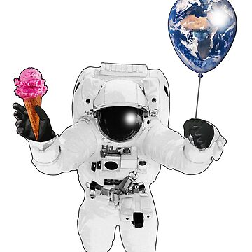Ice Cream Astronaut by ChrisOfFenric