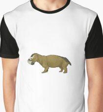 Endothiodon uniseries, the Permian dicynodont Graphic T-Shirt