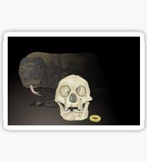 The real Hobbit, Homo floresiensis Sticker
