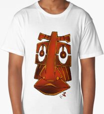 Totem face Long T-Shirt