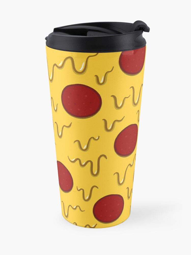 Alternate view of Pepperoni Pizza Travel Mug