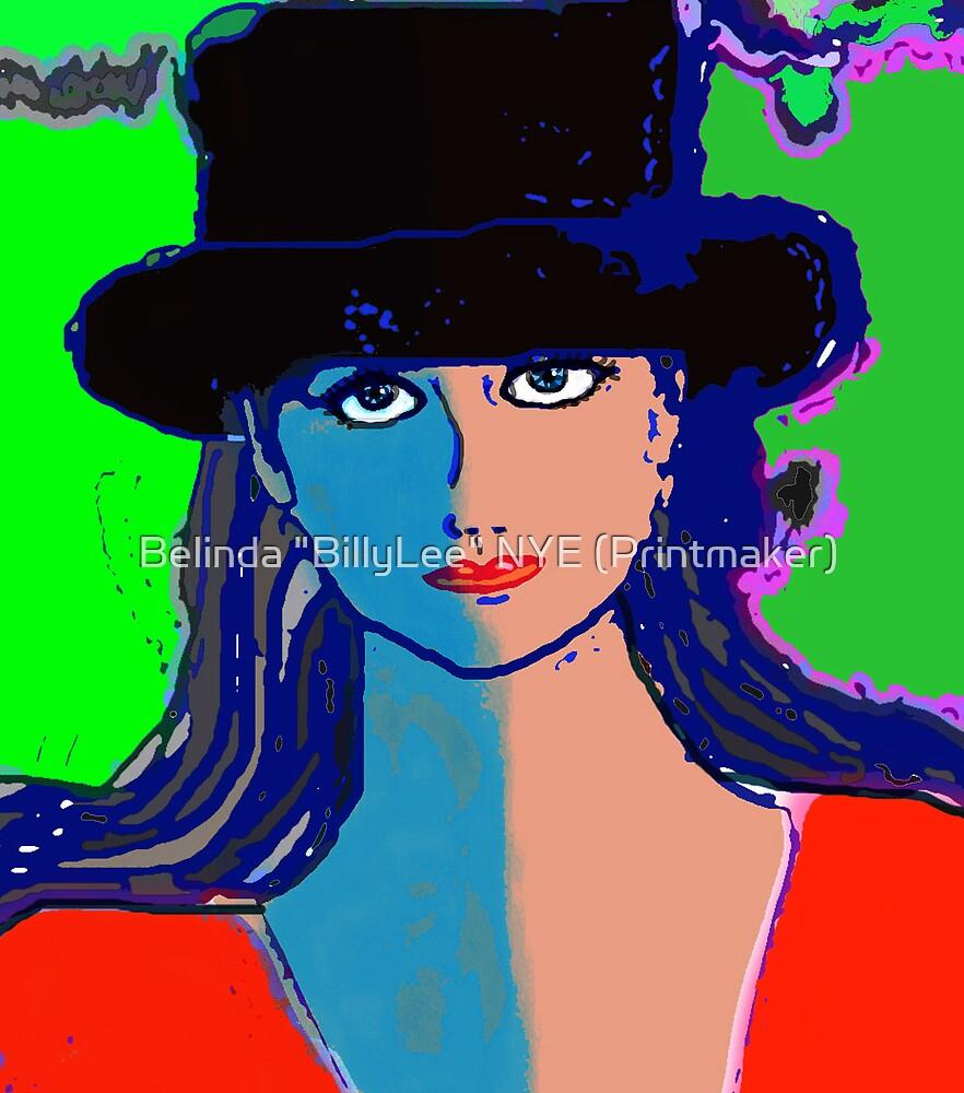 "Digital Portrait after Matisse by Belinda ""BillyLee"" NYE (Printmaker)"