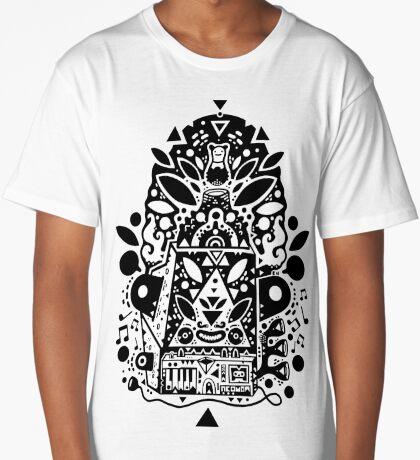 kozmik machine  Long T-Shirt