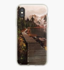 Mountain Path iPhone Case