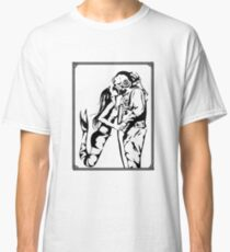 Mermaid + Deep Sea Diver Kiss Classic T-Shirt