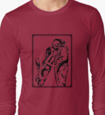 Mermaid + Deep Sea Diver Kiss Long Sleeve T-Shirt