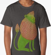 Asparagus Lion, King of the Vegetables Long T-Shirt