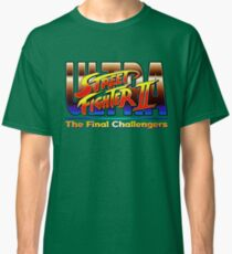 Ultra Street Fighter The Final Challengers Classic T-Shirt