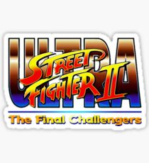 Ultra Street Fighter The Final Challengers Sticker