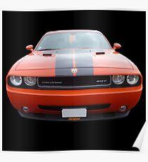 Dodge Challenger SRT Poster