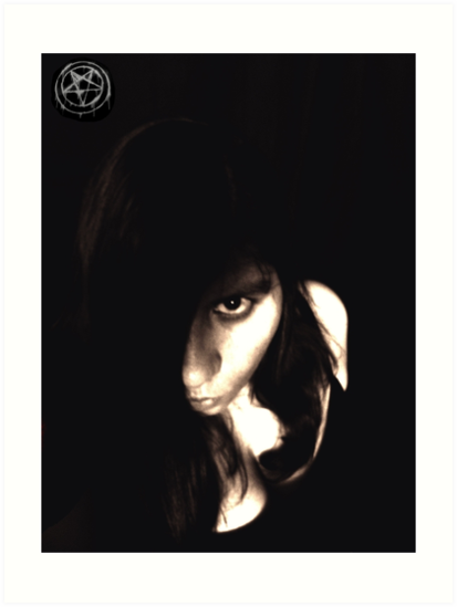 Let The Darkness Take Me by Vicki Spindler (VHS Photography)