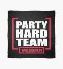 Hartes Teammitglied der Partei Tuch