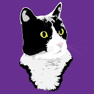 Regal Tuxedo Kitty by dmtab